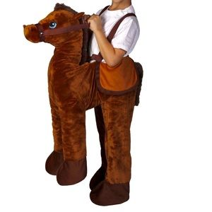 Other - Brown Horse Rider Toddler Costume Size 2T-4T New
